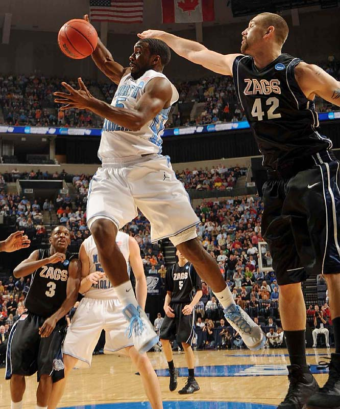 Ty Lawson and North Carolina breezed to another regional final. Lawson scored 17 of his 19 points in the first half.
