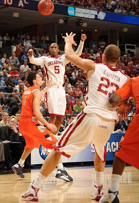 Tony Crocker added a career-high 28 points, and the Sooners seemed unstoppable.