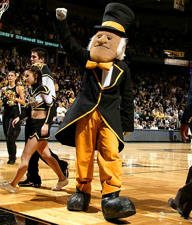 Best Dressed March Madness Mascots Si Com