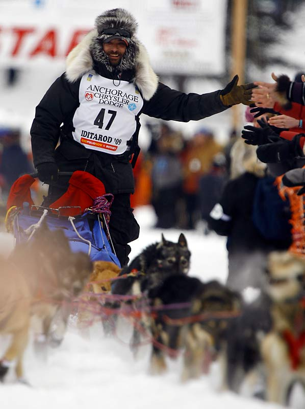 Lance Mackey has his sights set on a third Iditarod championship.