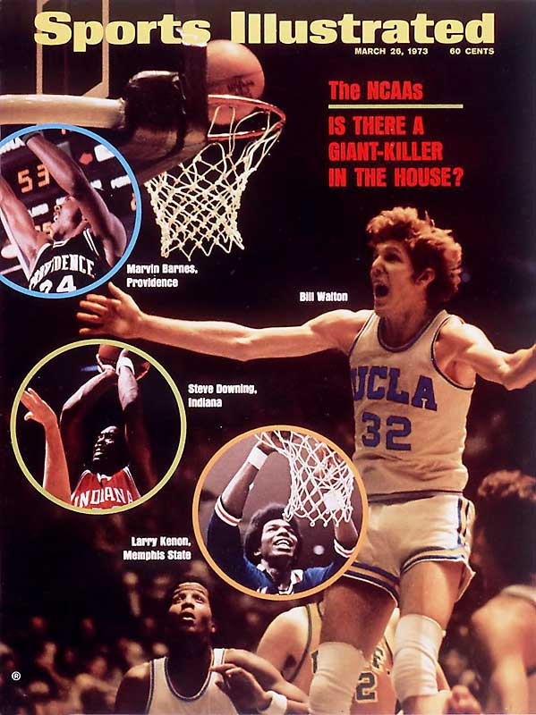 Incredibly, UCLA continued to extend a winning streak dating to January 1971 -- and brought a 29-0 record into a national championship meeting with Memphis State. There, Walton posted one of the great single-game performances in the annals of college sports, putting down 21 of his 22 attempts from the field for a game-high 44 points. The Bruins roared past the overmatched Tigers, 87-66, to bring home their unparalleled eighth national title in nine seasons.