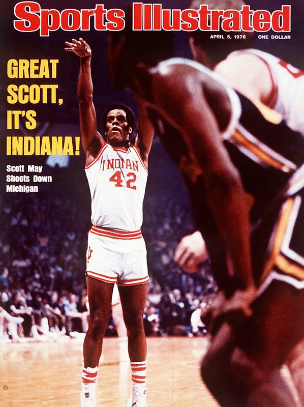 One year earlier, Indiana had taken a 31-0 record into the Elite Eight but suffered a two-point heartbreaker at the hands of Kentucky. This time around, Kent Benson made sure the Hoosiers finished the job. The Indiana native combined with Scott May for 51 points as the Bloomington school rolled past Big Ten rival Michigan, 86-68, for its first national championship since 1953.