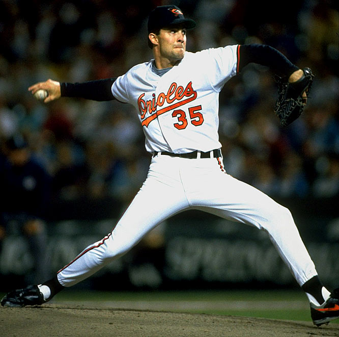 Mussina threw a knuckle-curve that was unhittable.  He had intelligence, confidence.  If something bad happened, he had the brains to adjust.