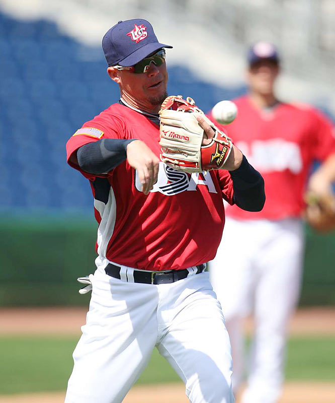 Along with Derek Jeter, Braves third baseman Chipper Jones is the only position player from Team USA's 2006 squad who returned for the 2009 team.