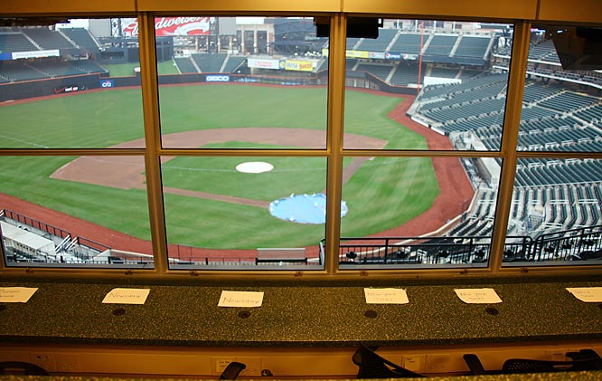 Citi Field can accommodate up to 150 writers in the main press box.