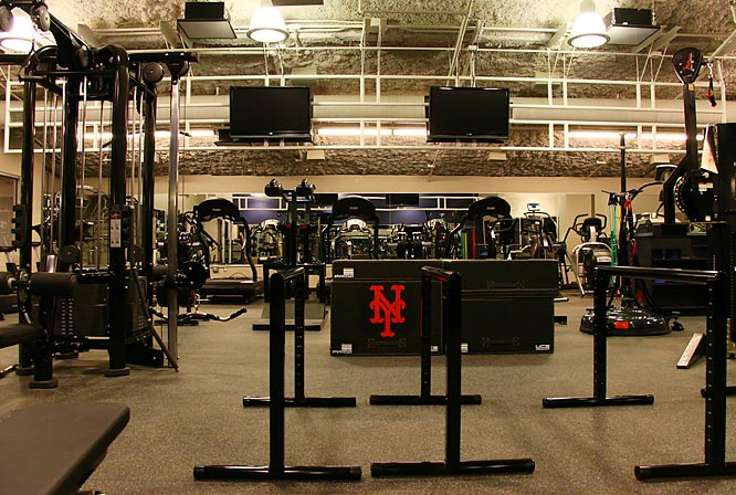 A view of the Mets state of the art training facility.
