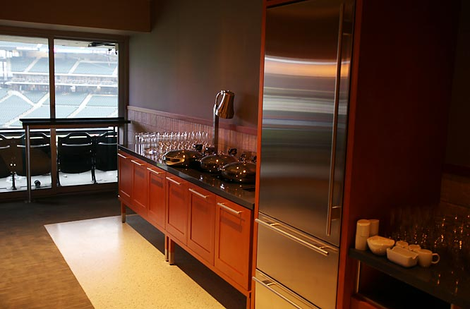 It features 39 Empire Suites (pictured), 10 Sterling Suites and five Empire Party Suites.