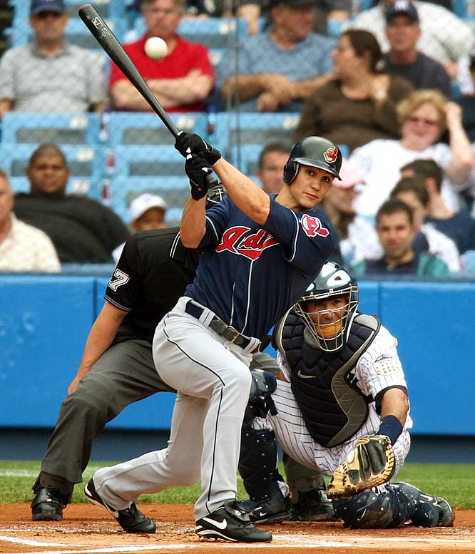 Grady Sizemore's combination of power and speed is one of the safest bets in fantasy. He's an annual lock for 28 HRs, 116 runs, 87 RBIs and 30 steals.