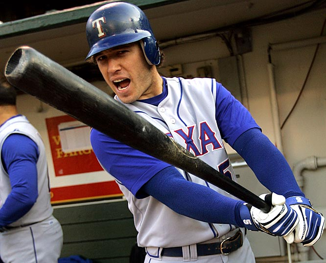 In my mind, Kinsler is a lead-pipe cinch to surpass his career numbers from '08 (18 HRs, 71 RBIs, 102 runs, 26 steals, .319 average in just 121 games); and, in turn, he's also the safer play over American League MVP Dustin Pedroia -- unless DP steals 35 bases and scores 140 runs.