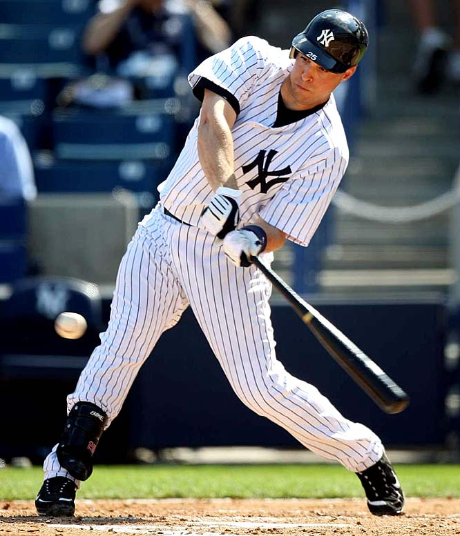 When it comes to deciding between Teixeira and Howard, the choice comes down to two factors: Teixeira realistically has a chance for 140 RBIs in the Yankees lineup (along with 30 HRs and 105 runs) ... and I'll be surprised to see Howard hit over .260 -- now that he's inked a three-year, $54 million extension.