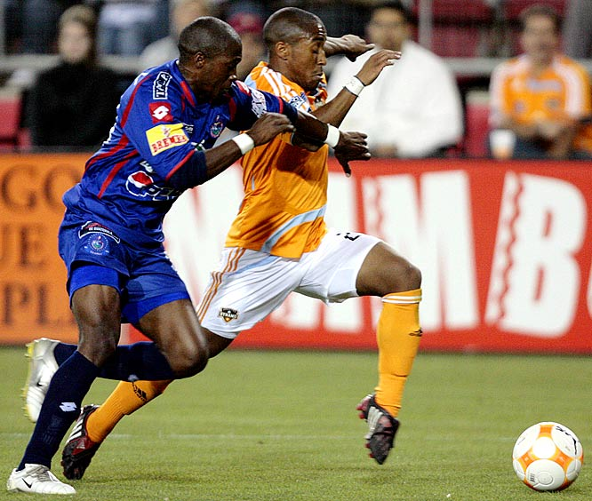 Used in '08 primarily as a substitute jolt of energy, Ashe's niche -- relentlessly wreaking havoc on the wing -- has become an effective second-half weapon. The 23-year-old Virginia Beach native (right) should see more time in '09 as the Dynamo midfield is beginning to show its age.