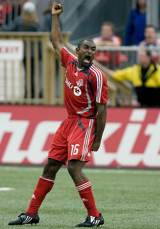 Wynne is often called the fastest player in MLS. True or not, the TFC right back's speed means he usually can recover from his occasional, if glaring, defensive lapses. There are few things as breathtaking as watching the 22-year-old Wynne chase down a hapless striker like a falcon swooping in for the kill.