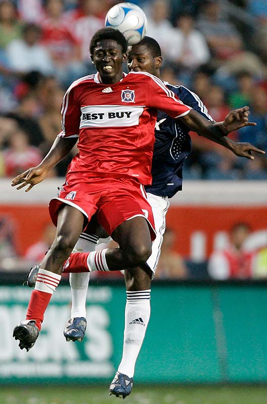 Injuries restricted the Ghanaian striker's season to just nine games last year but, now healthy, the 23-year-old should be a major threat in 2009. Midfield mastermind Cuauhtémoc Blanco must be salivating at the prospect of unleashing a no-look through ball behind the defense to a streaking Nyarko.