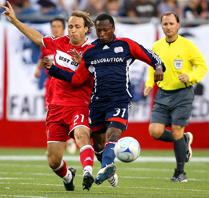 The 20-year-old Gambian announced himself in stunning fashion on his debut in the Revs' '08 opener. A stoppage-time rocket-fueled sprint with the ball from midfield culminated in an exclamation-point goal in a 3-0 victory over Houston. The right midfielder's loping runs keep opposing defenders on their back feet for the full 90 minutes.
