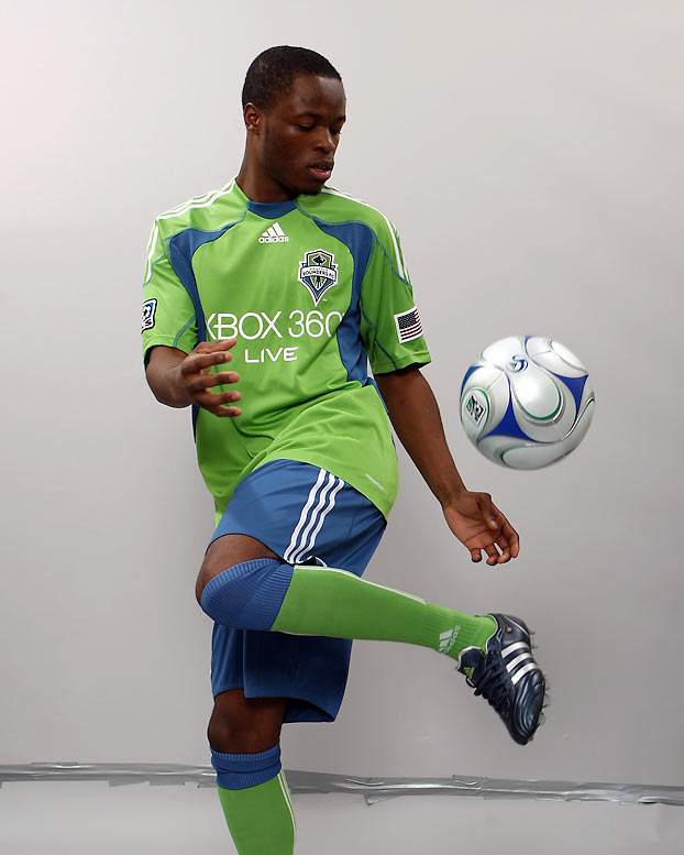 The No. 1 pick in this year's SuperDraft, Zakuani should contribute immediately. His pace will get him behind the defense, but the Sounders also need the 21-year-old former Arsenal youth player to score goals like he did at the University of Akron, where he led the nation in scoring last fall.