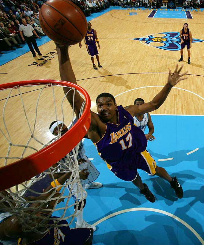 The 7-footer from New Jersey has shown flashes of brilliance over four seasons, but injuries have complicated his development. He averaged 13.1 points and 10.2 rebounds in 2007-08 and was at 14.0 and 8.2 in 46 games in 2008-09 when he tore a ligament in his right knee.