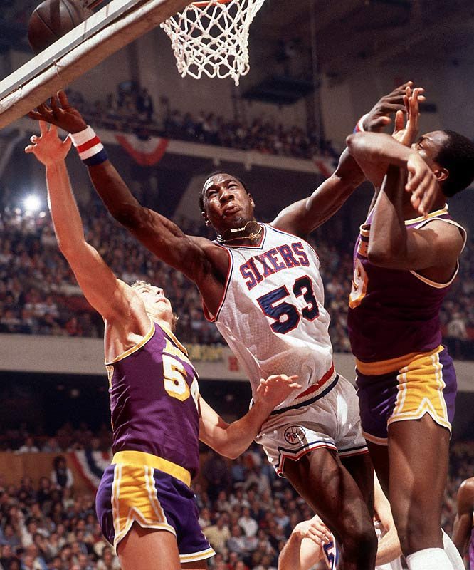 A year after Moses Malone went from high school to the pros, Dawkins (along with Bill Willoughby) did the same. The colorful Dawkins, the 76ers' first-round pick in 1975, was known best for inhabiting his own planet (Lovetron), creating nicknames for his backboard-breaking dunks and making up countless monikers for himself (Chocolate Thunder stuck). Dawkins averaged 12.0 points, mostly off the bench, in 13 NBA seasons, peaking at 16.8 with the Nets in 1983-84.