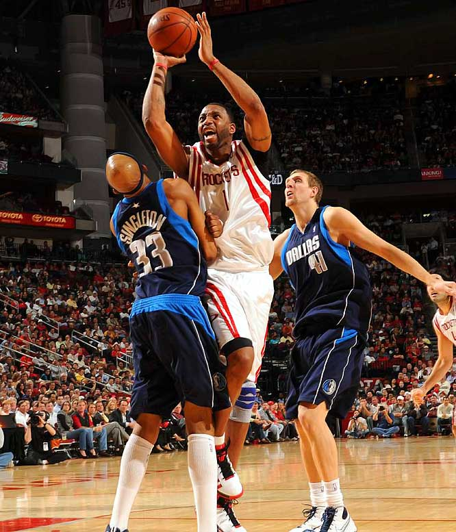 T-Mac has made the All-NBA first team twice, played in seven All-Star Games and won back-to-back scoring titles. But the 12-year veteran is still searching for his first playoff-series victory. That breakthrough won't happen in 2008-09, as the injury-plagued McGrady had season-ending knee surgery after struggling through the first half of the season.