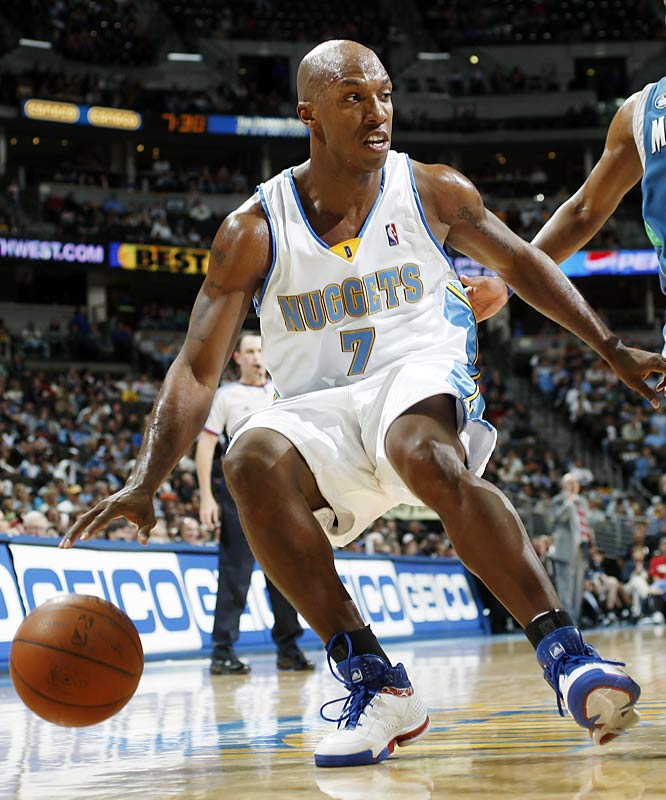 Chauncey Billups returns to Detroit at a time when the team he quarterbacked for six-plus seasons is languishing around .500 and battling for a low seed in the playoffs. Billups, meanwhile, has enjoyed an All-Star season while helping Denver contend for the No. 2 seed in the West.