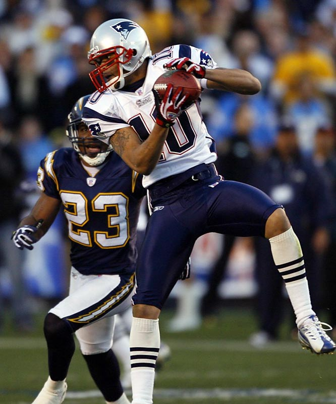 After hauling in 38 passes for 438 yards with the Patriots in 2008, Gaffney signed a four-year, $10 million deal with the Broncos. He was a solid slot receiver in New England behind Randy Moss and Wes Welker, and will again be a 3 or 4 receiver, this time behind Brandon Marshall and Eddie Royal.