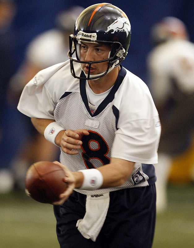 The other key player in the trade that sent Jay Cutler to Chicago, Kyle Orton threw for 2,972 yards last season with the Bears, after beating out Rex Grossman for the starting job.