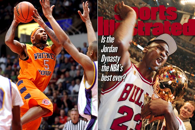 Something about Jordan and winning basketball championships in Chicago just go together. Marcus Jordan, the son of Michael, scored a game-high 10 points to lead Chicago Whitney Young to a 69-66 victory over Waukegan in the Illinois Class 4A championship. Now all he has to do is win six NBA titles and become the greatest basketball player ever to break out of his father's shadow.