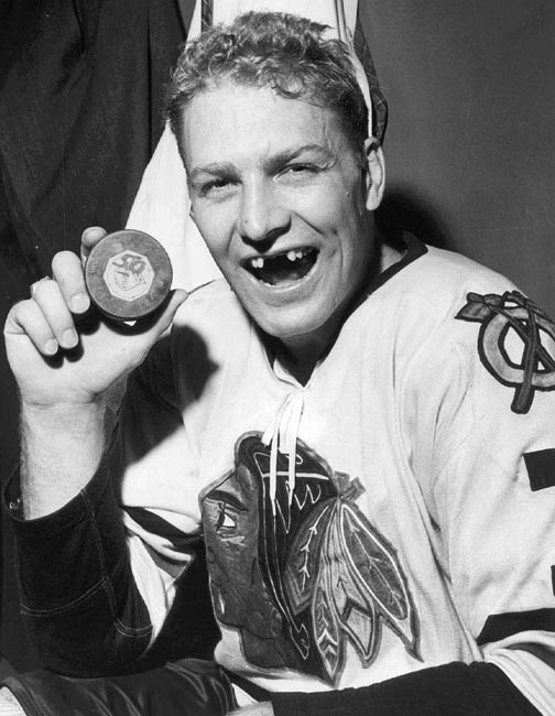 Chicago's Bobby Hull becomes the first player in the NHL to score more than 50 goals in a season. Hull ended the season with 54 goals.