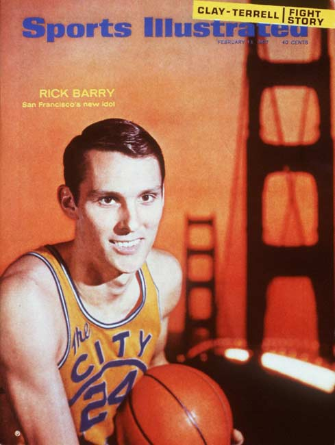 The Golden State Warriors retire Rick Barry's uniform No. 24, joining the numbers of only three other former Warrior greats (Al Attles, Tom Meschery and Nate Thurmond).