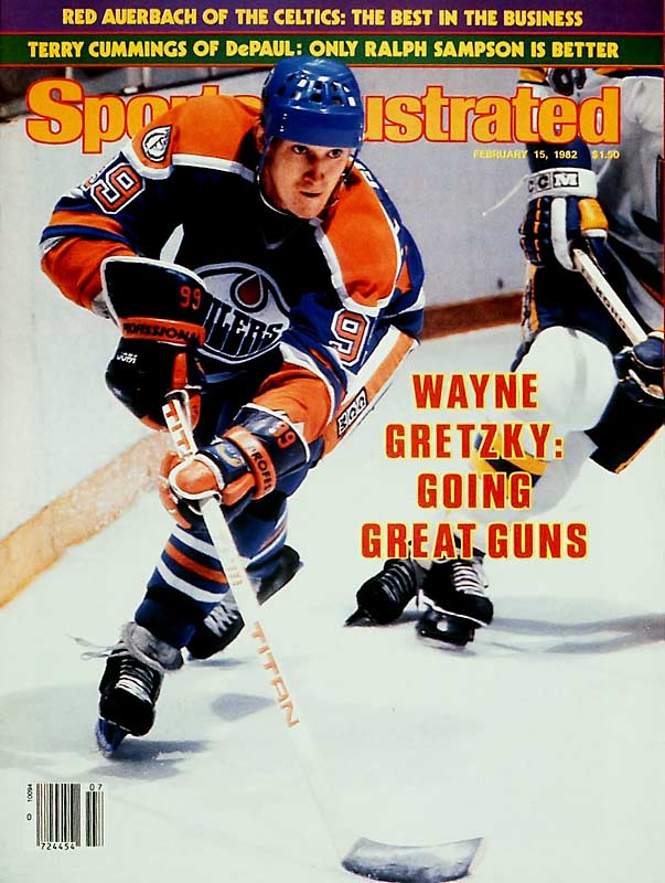 In a 7-2 victory over Calgary, Edmonton's Wayne Gretzky becomes the first player in the NHL to score 200 points in a season.