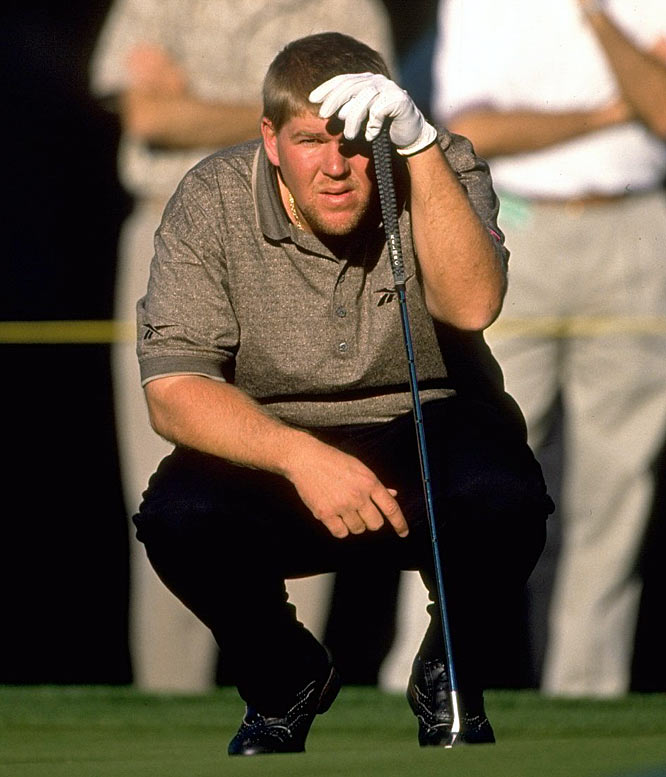 Golfer John Daly checks into the Betty Ford Clinic after a drinking binge a few days earlier.
