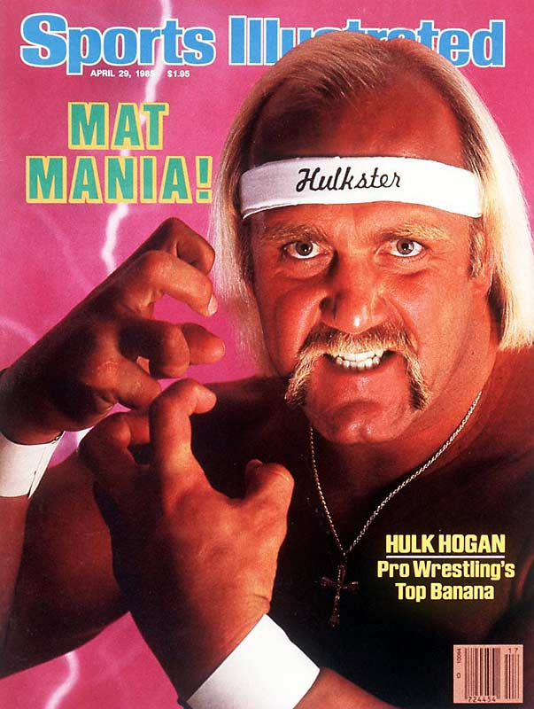 In the mid 80s, professional wrestling took the nation by storm and few athletes were as recognizable as  6-foot-8, 300 pound Hulk Hogan. This shot marks the only time a pro wrestler has graced the cover of SI.