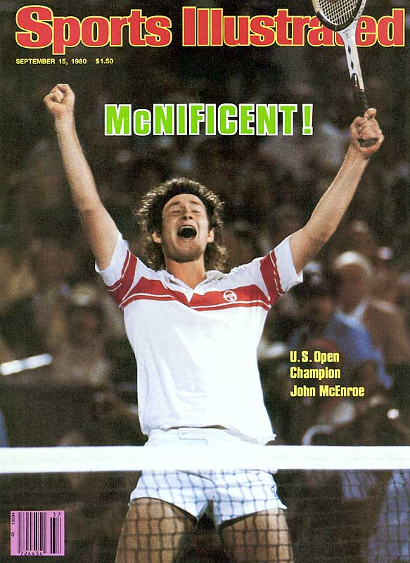 After losing an epic five-set championship match to Bjorn Borg at Wimbledon -- a match that included an 18-16 tie-breaker -- McEnroe exacted revenge on the Swede at the U.S. Open, beating Borg in five sets to win his second Slam at Flushing.