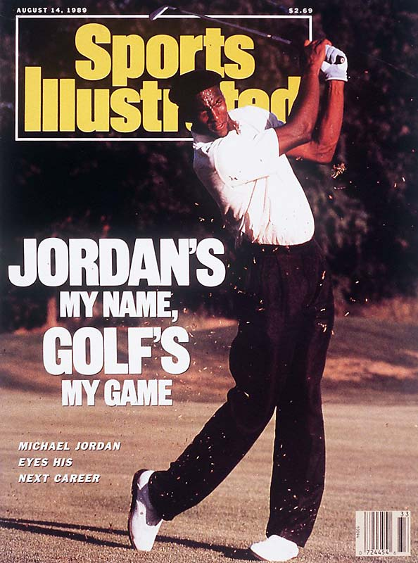 By the summer of 1989, Michael Jordan was already on top of the basketball universe. But as this cover demonstrates, M.J. also had an affinity for golf and contemplated a post-NBA career on the links.