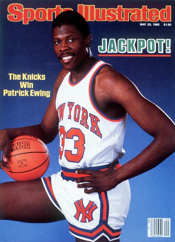 In 1985, the NBA instituted the draft lottery, knowing teams would be jockeying for that year's No. 1 pick and the chance to draft Georgetown center Patrick Ewing. Although he never won a championship, Ewing was an 11-time All-Star and was selected as one of the league's 50 greatest players.