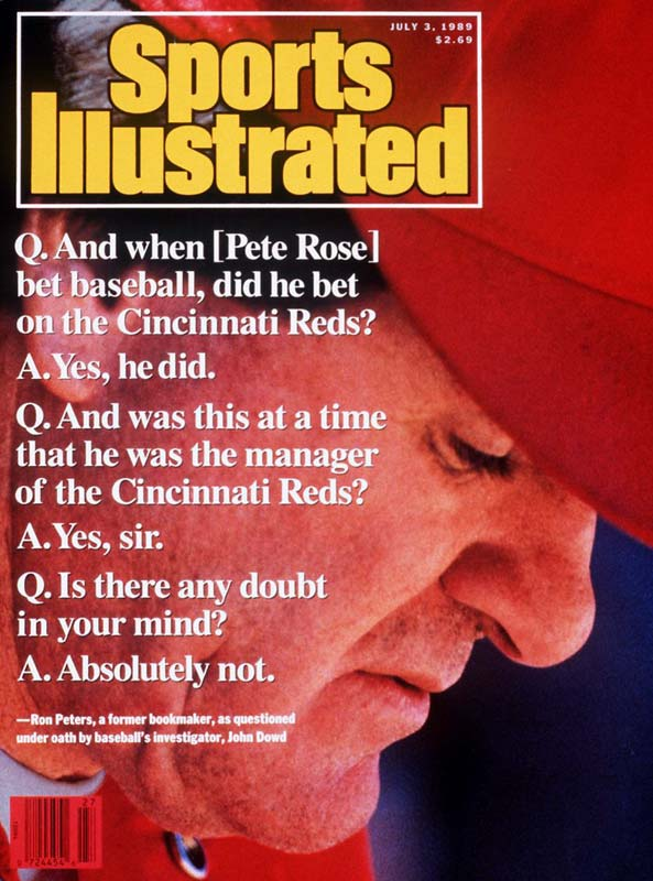 In February 1989, Pete Rose, who seemed to be a then-shoo-in for the Hall of Fame, vehemently denied ever betting on a Major League game. However, after lawyer John Dowd interviewed many of Rose's associates, the truth came out. And it wasn't pretty.