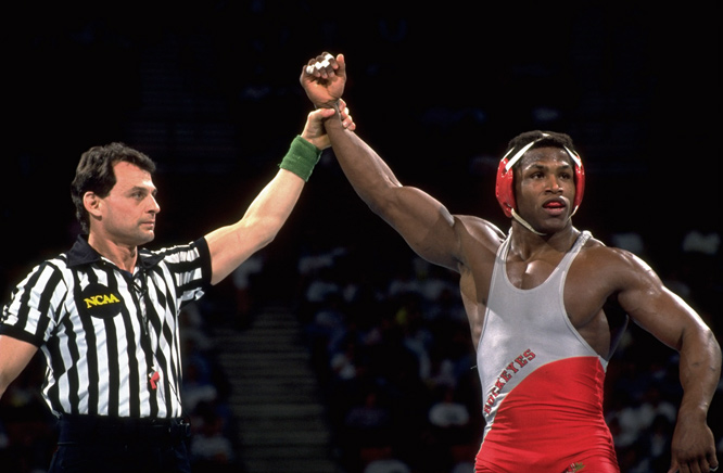 While at Ohio State, Randleman won, not one, but two Division I wrestling championships at 177 pounds, and, in 2004, he was inducted into the OSU Hall of Fame. Randleman began his MMA career in Brazil, where he earned a 5-1 record in Universal Vale Tudo Fighting. Having since fought in various promotions, including PRIDE, the UFC and Sengoku, Randleman has earned a 17-12 record.