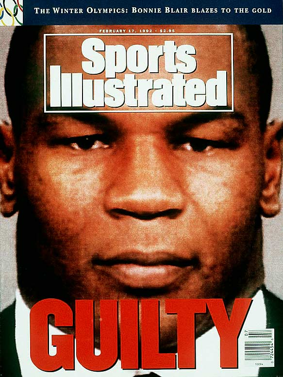 Tyson was convicted of rape in 1992 and spent three years in prison.