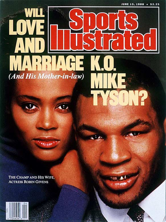 After taking the boxing world by storm, Tyson's personal world started to crumble as he lost both his surrogate father/mentor Cus D'Amato and co-manager Jimmy Jacobs. Moreover, promoters were fighting over his contract, he fired his longtime trainer, and his marriage to actress Robin Givens was rapidly falling apart.