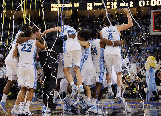 UNC won their fifth national title in school history and the second in five seasons.