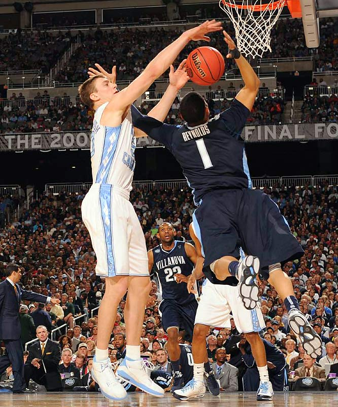 Try as they might, the Wildcats could not prevent Tyler Hansbrough from being his usual double-double self. The senior All-American finished with 18 points and 11 rebounds.