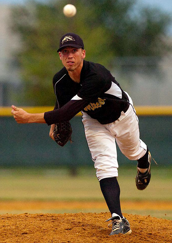 Mitchell High senior Patrick Schuster continued an improbable streak Monday, firing his fourth-consecutive no-hitter.