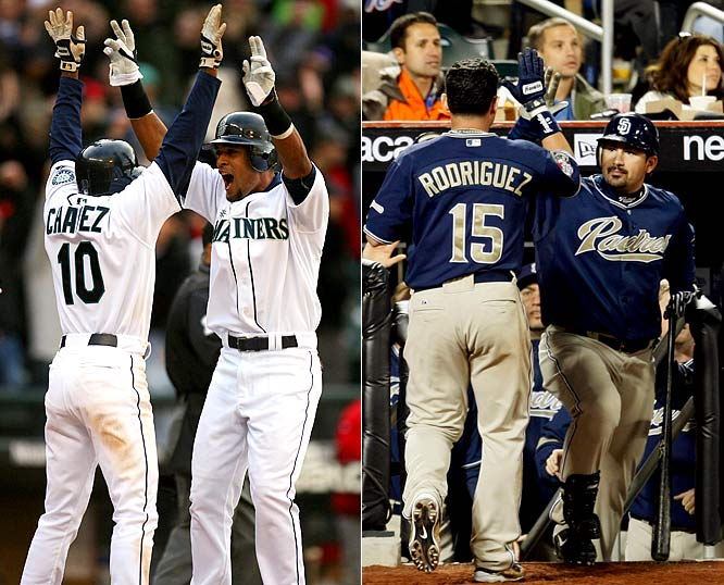 Seattle (61-101) and San Diego (63-99) were two of the worst teams in baseball in 2008, and nobody expected much more this season. But the Mariners lead the AL West with an 8-5 record, and the Padres are one game back of the division-leading Dodgers at 9-4.