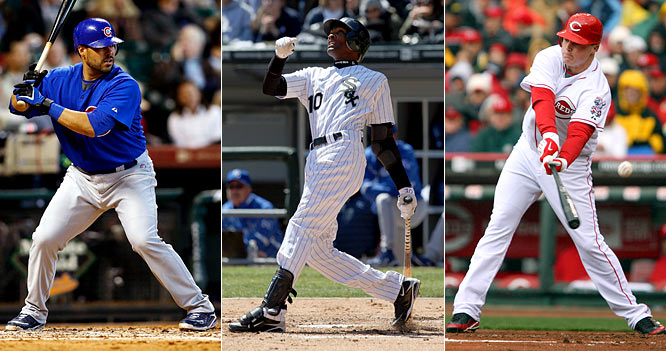 Geovany Soto, Alexei Ramirez and Jay Bruce burst on the scene as rookies in 2008, leading to high expectations for this season. So far, this certainly hasn't been the case. Soto, the reigning NL Rookie of the Year, is hitting .105 with one RBI, while Ramirez (.125) and Bruce (.176) are also struggling mightily at the plate.