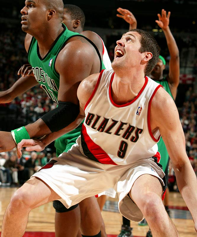 The big man had surgery in September to repair a torn labrum in his right shoulder, ending his season before it began. While the Blazers were not able to turn LaFrentz's expiring contract into anything at the trade deadline, his injury allowed them to recoup most of his salary in insurance payments.