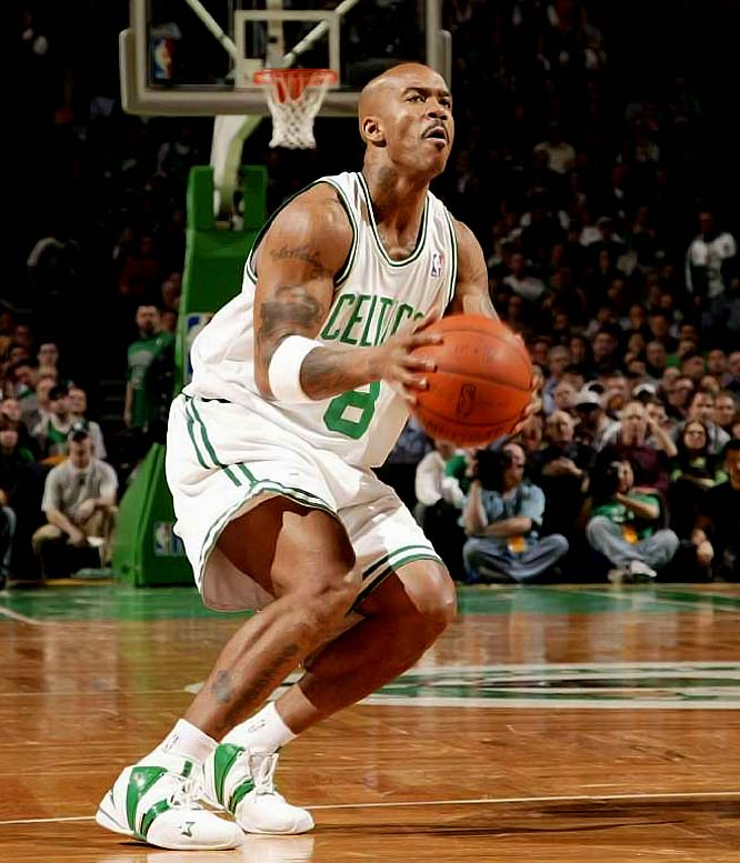 Marbury didn't play a single minute this season for the Knicks, who finally agreed to a contract buyout with the point guard in late February. Since signing with the Celtics for a prorated portion of the veteran's minimum, Marbury hasn't contributed much off the bench.