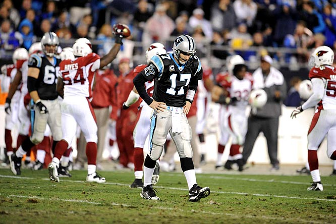 Call it Jake Delhomme's redemption. The Panthers QB will be eager to make up for the egg he laid in last season's NFC Divisional Playoffs.