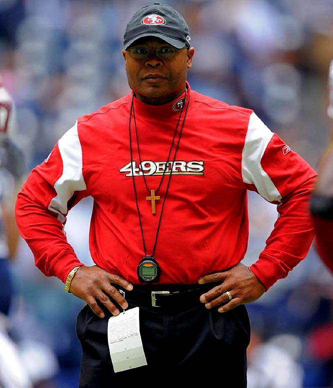 On a Thursday night stage, Niners coach Mike Singletary gets to coach against the franchise he helped to its only Super Bowl title.