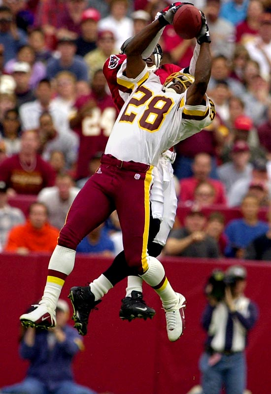 Green, a seven-time Pro Bowler, was known for his blazing speed and incredible longevity. He was 42 when he hung up his cleats in 2002 -- an incredible feat for a position that relies so much on quickness. Bucs linebacker Derrick Brooks, picked 28th in 1995, was also a worthy candidate at this spot.