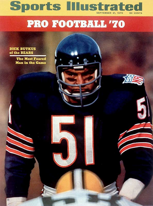 This was a close race between Butkus, the ultimate middle linebacker, and Barry Sanders, the third pick in 1989 and the most electrifying running back of all time. Butkus gets the nod, partly because of his toughness and partly because Sanders retired too early. Anthony Munoz, the No. 3 pick in 1980, gets consideration for his consistent excellence.