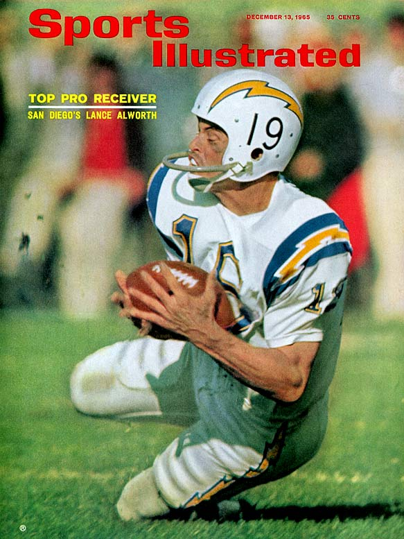 Alworth was selected in the No. 8 slot by the Niners but opted for the San Diego Chargers of the AFL. His grace and explosiveness give him the slightest edge over the great Larry Csonka and Ronnie Lott.